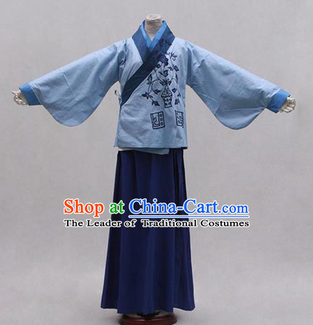 Traditional Ancient Chinese Nobility Lady Hanfu Costume, Asian Chinese Ming Dynasty Embroidered Dress Clothing for Women