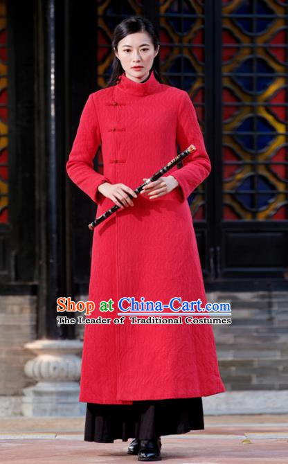 Traditional Chinese National Costume Hanfu Slant Opening Qipao Dress, China Tang Suit Cheongsam for Women