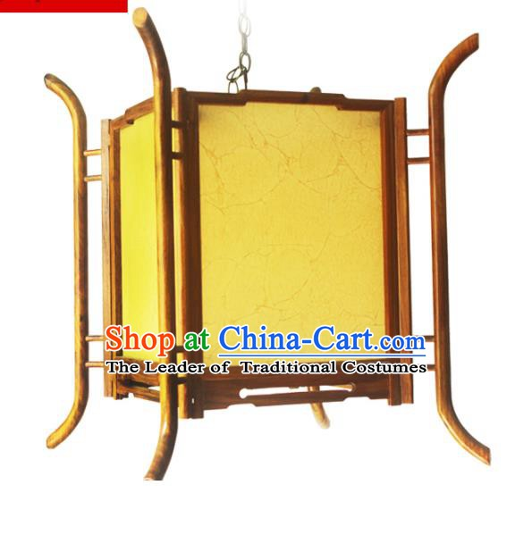 Traditional Chinese Handmade Sheepskin Ceiling Lantern Classical Palace Lantern China Palace Lamp