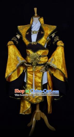 Traditional Chinese Ancient Swordswoman Cosplay Costume for Women