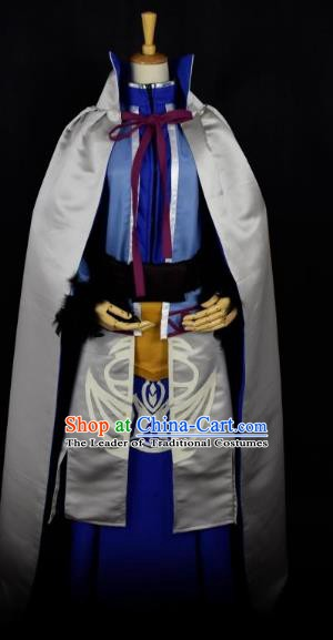 Traditional Chinese Ancient Swordsman Clothing Cosplay Ming Dynasty Zoroastrianism Congregation Costume for Men