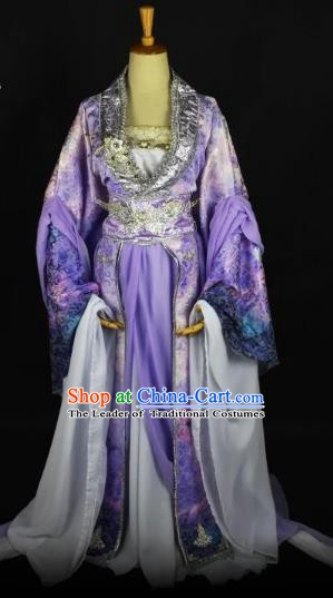 Traditional Chinese Ancient Imperial Concubine Hanfu Costume Tang Dynasty Palace Lady Clothing for Women