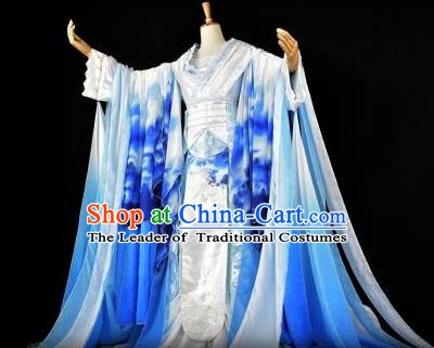 Traditional Chinese Ancient Imperial Empress Hanfu Costume Han Dynasty Palace Lady Clothing for Women