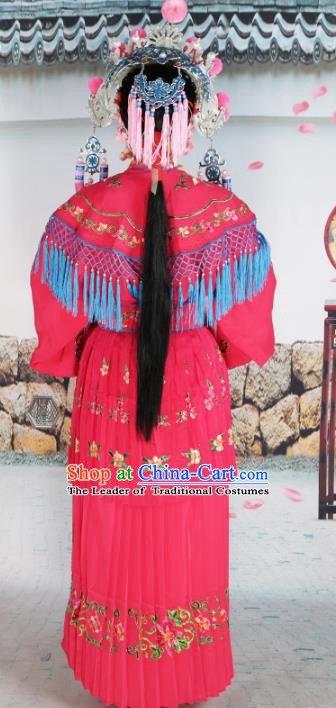 Traditional China Beijing Opera Costume Gifted Scholar Embroidered Robe and Hat Ancient Chinese Peking Opera Embroidery Clothing