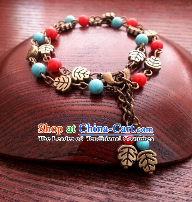 Traditional Handmade Chinese Ancient Classical Accessories Bracelets for Women