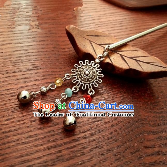 Traditional Handmade Chinese Ancient Classical Hair Accessories Beads Tassel Hairpins Headwear for Women
