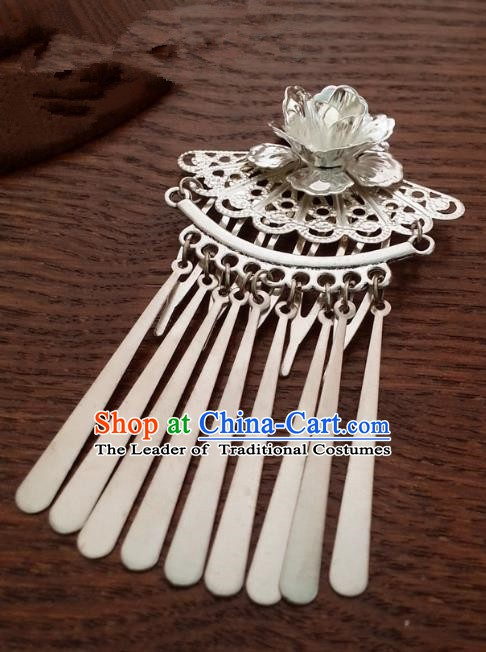 Handmade Traditional Chinese Classical Hair Accessories Step Shake Ancient Hanfu Hairpins Hair Fascinators for Women