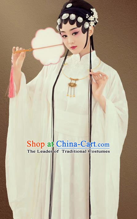 Traditional Chinese Beijing Opera Actress Costume, China Ancient Ming Dynasty Princess Clothing for Women