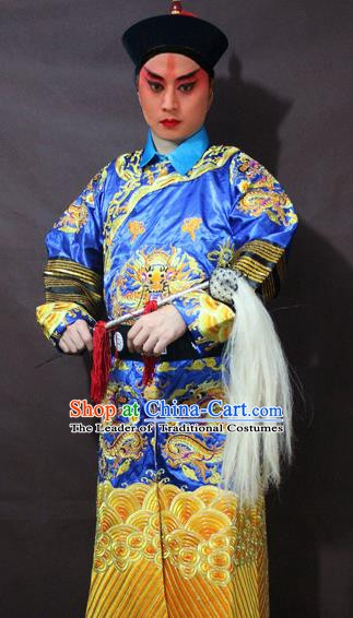 Traditional China Beijing Opera Court Eunuch Costume, Chinese Peking Opera Qing Dynasty Eunuch Clothing