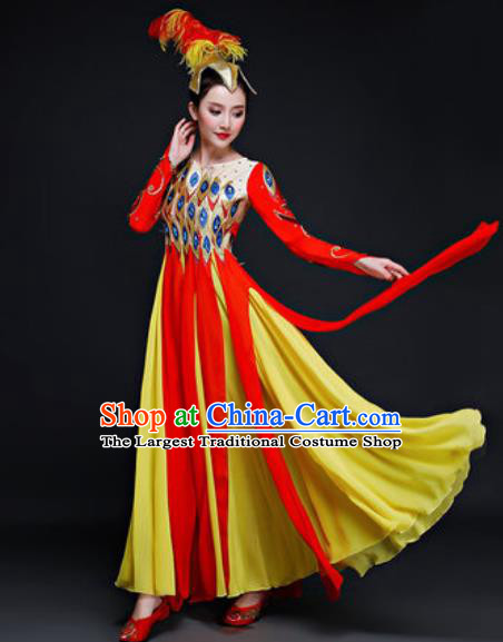 50e05fca0e67 Traditional Chinese Peacock Tribe Village Dance Costume for Men