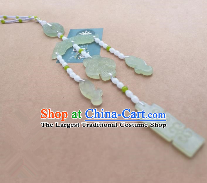 Chinese Ancient Jade Pendant Wedding Jade Jewelry Accessories for Women