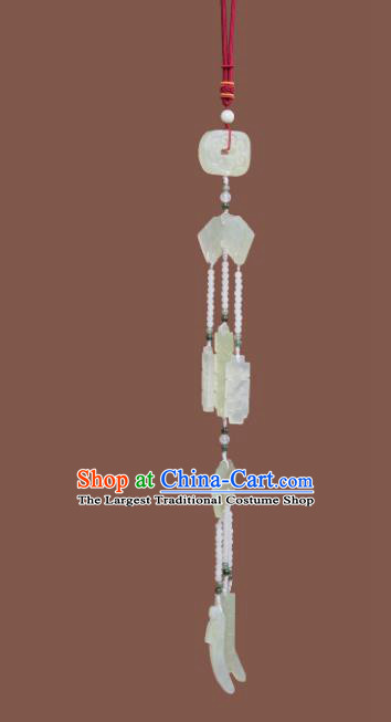 Chinese Ancient Jade Pendant Wedding Jewelry Accessories for Women
