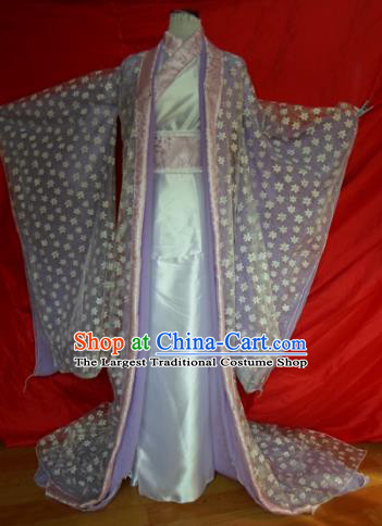 Traditional Chinese Han Dynasty Classical Dance Costumes Ancient Imperial Consort Hanfu Dress for Women