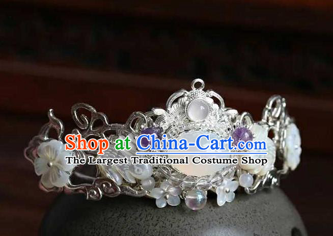Chinese Traditional Hair Accessories Ancient Handmade Hanfu Hairdo Crown for Women