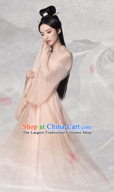 Traditional Chinese Tang Dynasty Princess Costumes Ancient Fairy Hanfu Dress for Women