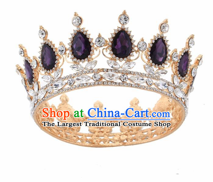 Boys Costume Accessories Popular Brand Golden Ancient Hair Clip Vintage Hairpin Vinatge Hair Accessories Chinese Han Dynasty Hair Decoration Warrior Hair Decoration Novelty & Special Use