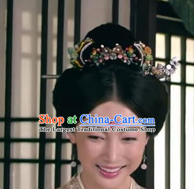 Chinese Ancient Imperial Consort Hair Accessories Tang Dynasty Hairpins for Women