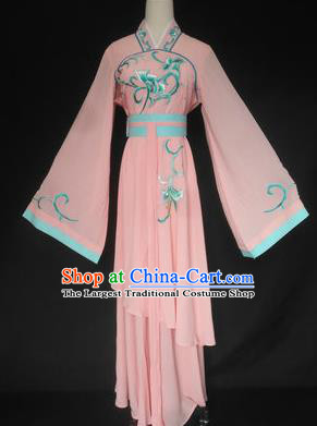 Chinese Traditional Peking Opera Las Meninas Pink Costumes Ancient Beijing Opera Diva Clothing for Adults