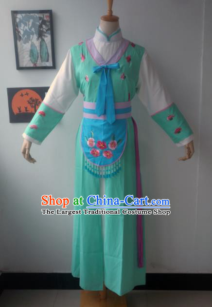 Chinese Traditional Peking Opera Maidservants Costumes Ancient Beijing Opera Diva Dress for Adults