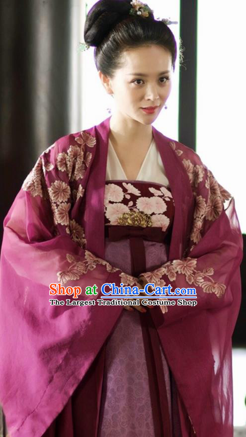 Asian Chinese Ancient Imperial Concubine Costumes The Rise of Phoenixes Palace Lady Clothing for Women