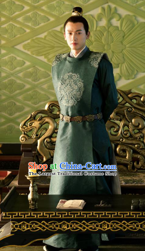 Chinese Ancient Nobility Childe Costumes The Rise of Phoenixes Prince Clothing for Men
