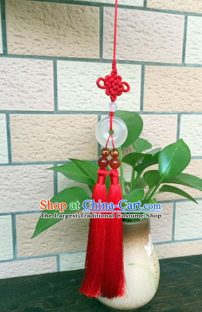 Chinese Traditional Jade Accessories Tassel Jade Pendant Ornaments