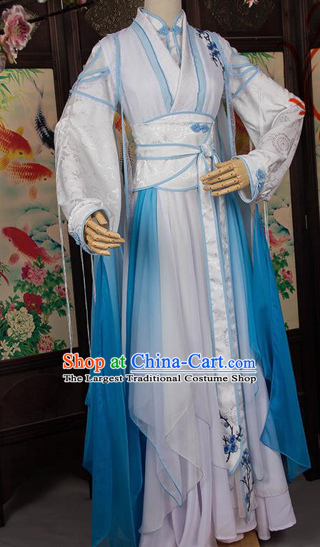 Chinese Traditional Cosplay Female Assassin Costumes Ancient Swordswoman Hanfu Dress for Women