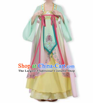 Chinese Traditional Cosplay Game Character Princess Costumes Ancient Peri Hanfu Dress for Women