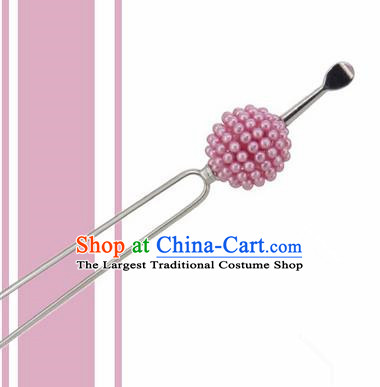 Japanese Traditional Courtesan Ball Hairpins Ancient Geisha Kimono Hair Accessories for Women