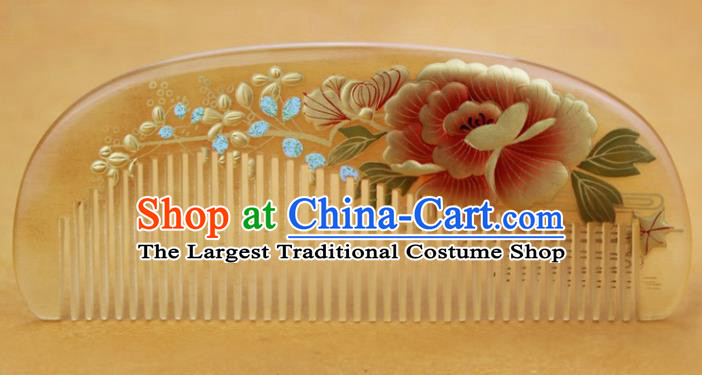 Japanese Traditional Courtesan Hair Comb Ancient Geisha Kimono Hair Accessories for Women
