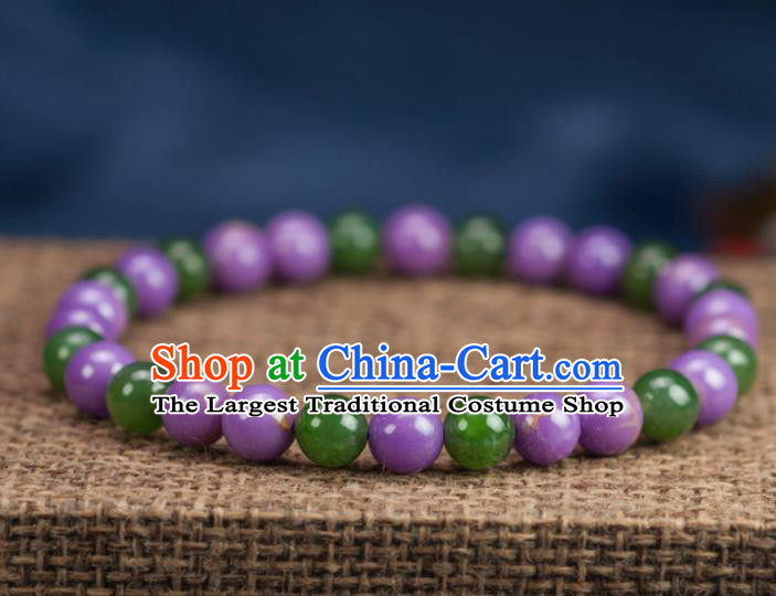 Chinese Traditional Jewelry Accessories Ancient Hanfu Hetian Jade Bracelet for Women