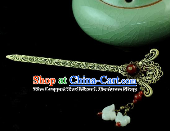 Chinese Traditional Mandarin Duck Hair Clip Hair Accessories Ancient Palace Classical Hairpins for Women