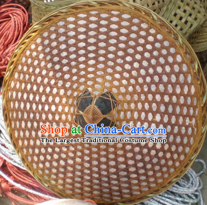 Chinese Traditional Handmade Craft Asian Bamboo Hat Bamboo Split Hat