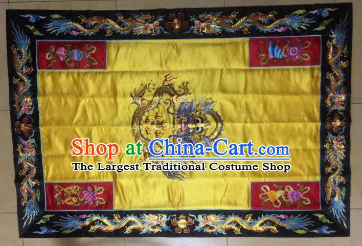 Chinese Traditional Handmade Buddhism Costume Monk Embroidered Cassock