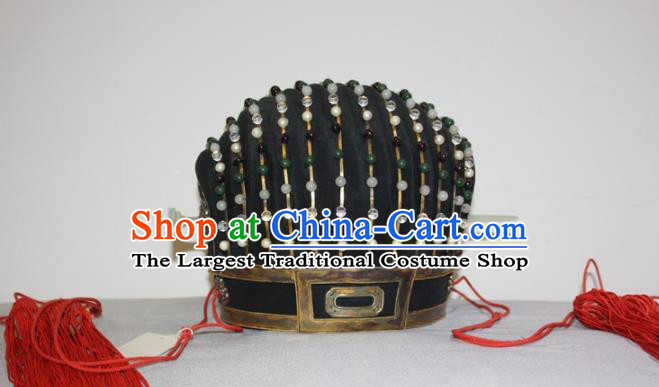 Chinese Traditional Ancient Minister Headdress Ming Dynasty Chancellor Hat for Men