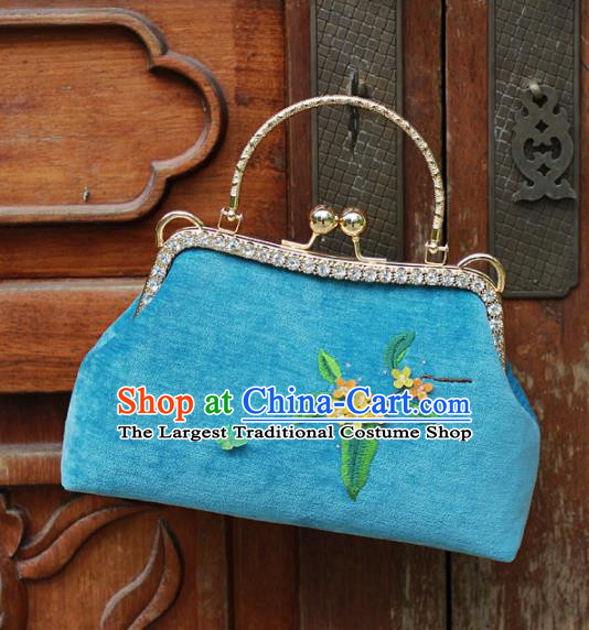 Chinese Traditional Embroidered Bags Retro Osmanthus Flowers Handbags for Women
