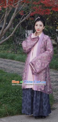 Traditional Chinese Song Dynasty Nobility Countess Hanfu Dress Ancient Contessa Embroidered Costumes for Women