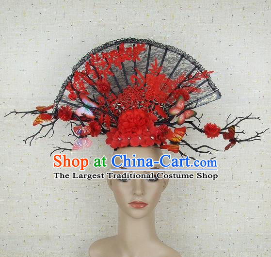 Top Grade Handmade Chinese Hair Clasp Headdress Traditional