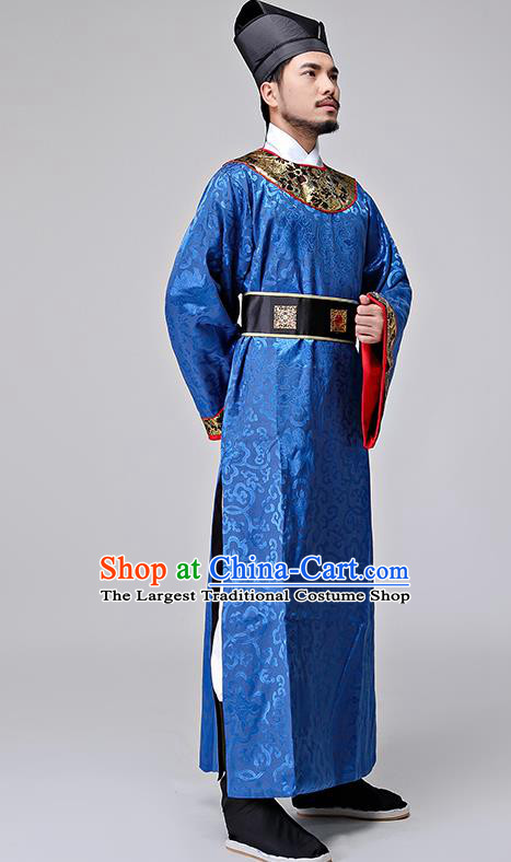 Chinese Ancient Drama Song Dynasty Military Officer Costumes and Hat for Men