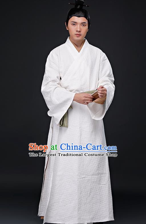 Chinese Ancient Young Swordsman Costume Han Dynasty Drama Knight Costumes for Men