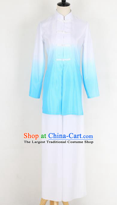 Chinese Traditional Folk Dance White Clothing Classical Dance Costume for Women