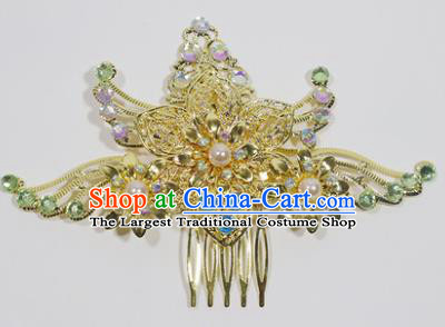 Chinese Traditional Palace Hair Accessories Hair Comb Ancient Bride Hairpins for Women