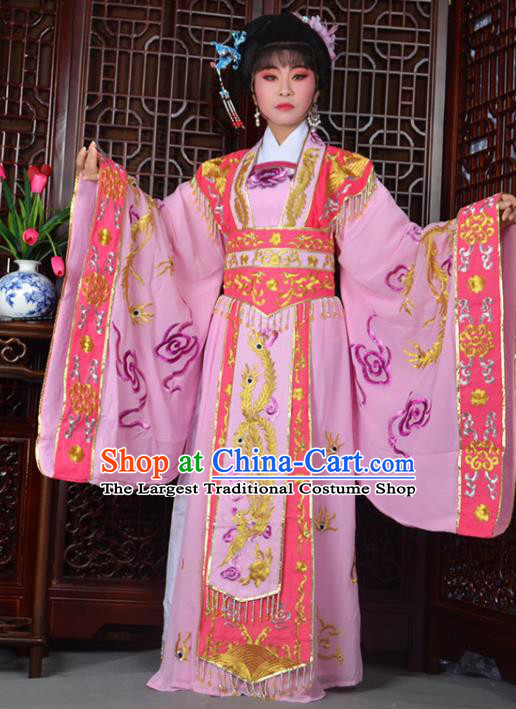 Traditional Chinese Peking Opera Empress Embroidered Costumes Ancient Queen Dress for Adults