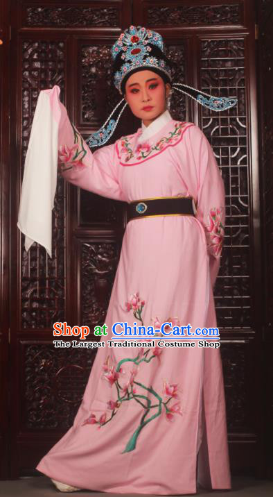 Top Grade Chinese Beijing Opera Niche Pink Costumes Peking Opera Embroidered Magnolia Clothing for Adults