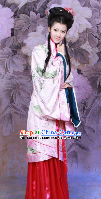 Chinese Ancient Princess Fairy Hanfu Dress Han Dynasty Imperial Consort Historical Costumes for Women