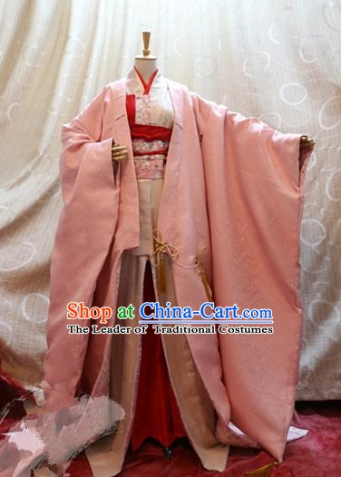Traditional China Ancient Cosplay Princess Clothing Han Dynasty Palace Costumes for Women