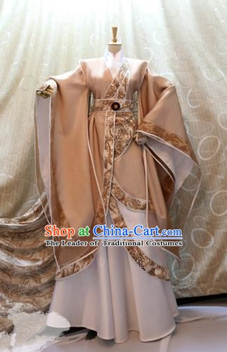 Ancient China Cosplay Han Dynasty Prince Swordsman Costumes Nobility Childe Clothing for Men