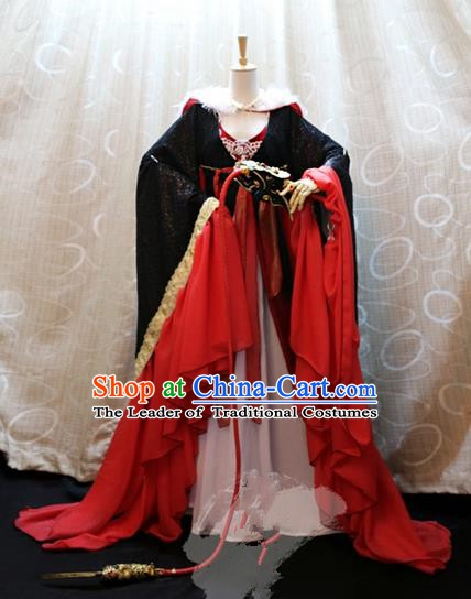 China Ancient Cosplay Princess Clothing Traditional Tang Dynasty Imperial Concubine Dress for Women