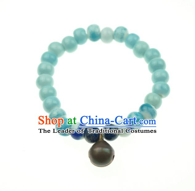 Traditional Chinese Bracelet Accessories Bells Bangle for Women