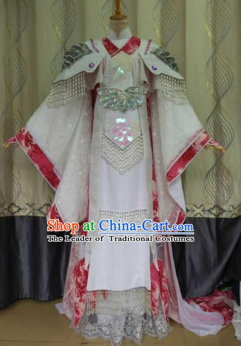 China Ancient Cosplay Tang Dynasty Palace Lady Costume Fairy Fancy Dress Traditional Hanfu Clothing for Women